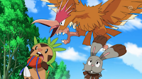 Chespin y Bunnelby