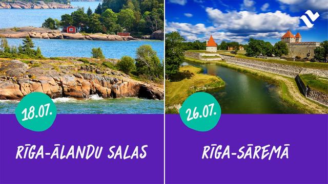 Riga - Alandu Riga- Sarema