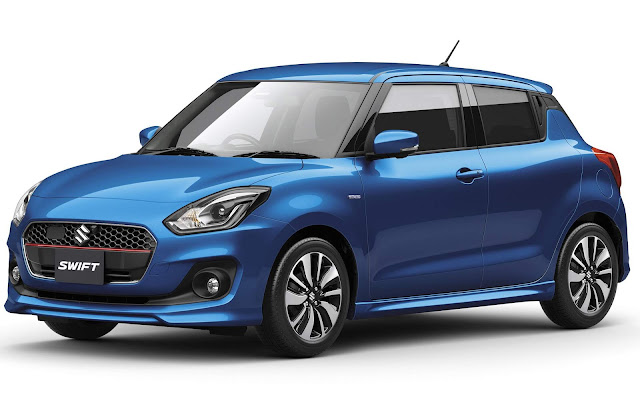 Novo Suzuki Swift 2017