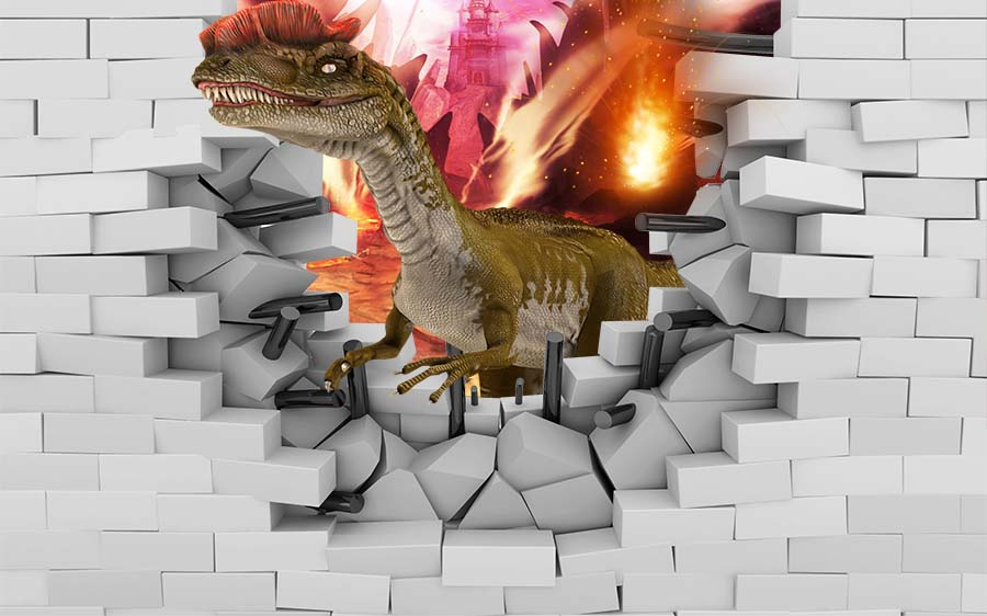 3D Wall PSD Background