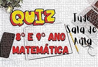 Prova online de Matemática 8º e 9º ano sobre Produtos notáveis
