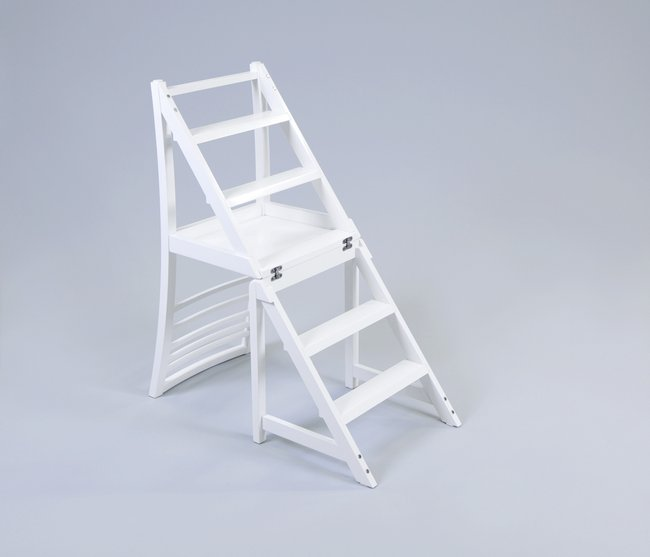 Very Practical 2 In 1 Purpose Transforming Ladder Chair