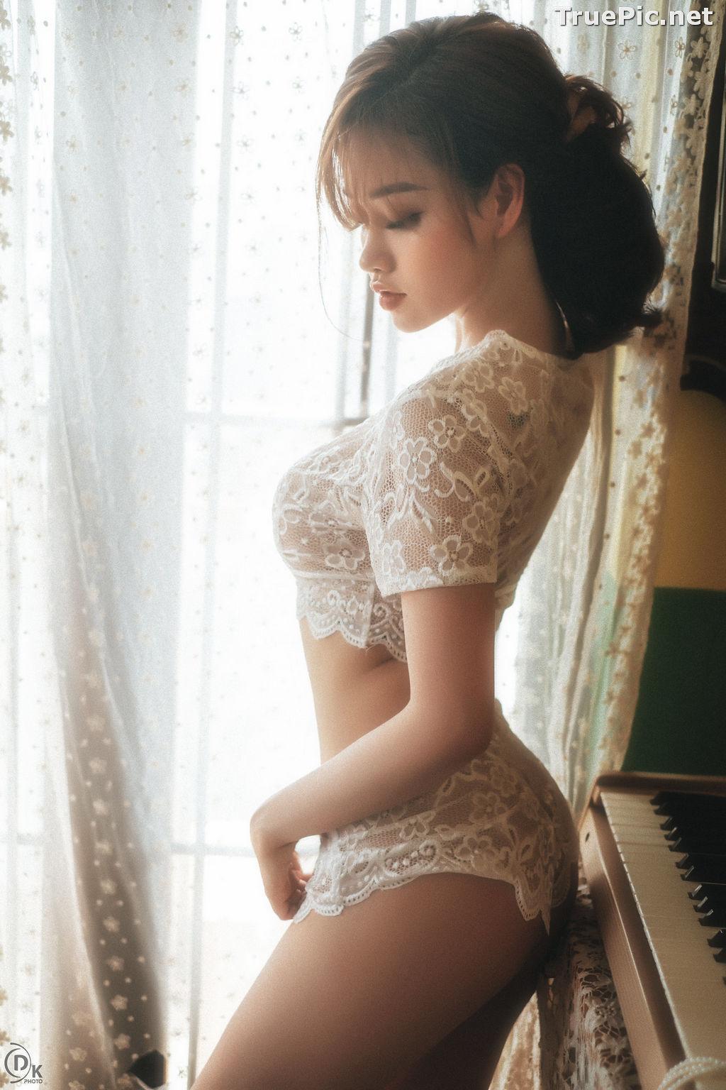 Image Vietnamese Hot Model - Sleepwear and Lingerie Under Dawnlight - TruePic.net - Picture-4