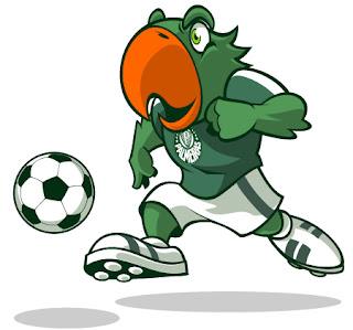 Periquito - Mascotes do Palmeiras