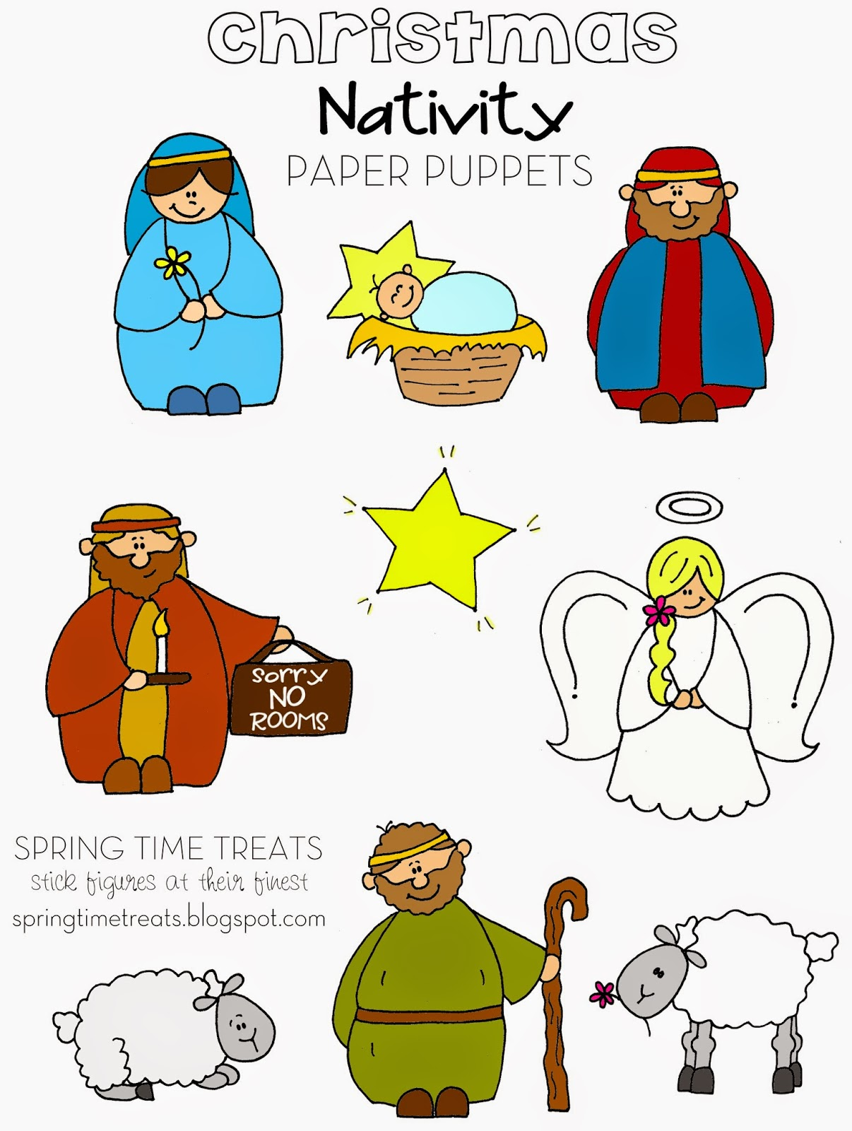 Nativity Story Ideas Or Crafts