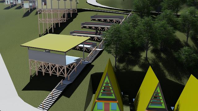 site plan hotel resort
