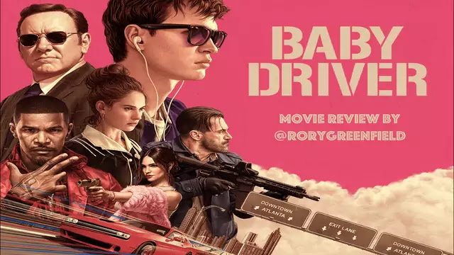 Baby driver Movies HD Image Poster