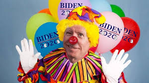 joe biden clown