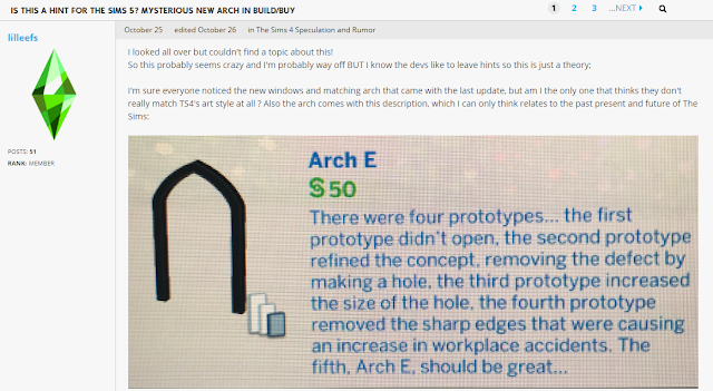 Arch E Sims 5 Clue or Gurus Just Trolling