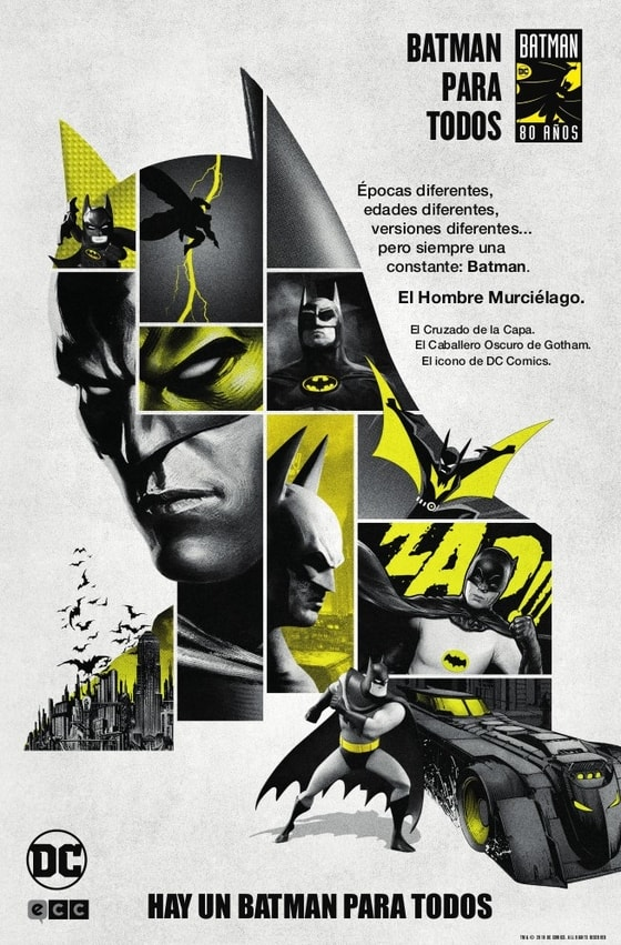 Celebra el Batman Day 2019 con ECC Ediciones