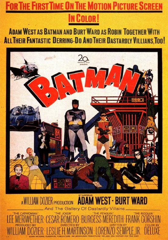 Batman movie 1966 poster 1-2