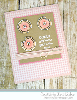 Donut You Know You're the Best card-designed by Lori Tecler/Inking Aloud-stamps and dies from Lawn Fawn