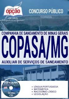Apostila concurso COPASA MG 2017