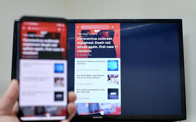 Cast and mirror an Android screen to your TV in three easy steps