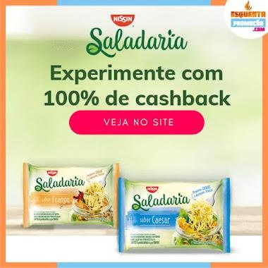 EXPERIMENTE GRÁTIS - NISSIN Saladaria e Receba 100% do Seu Dinheiro de Volta