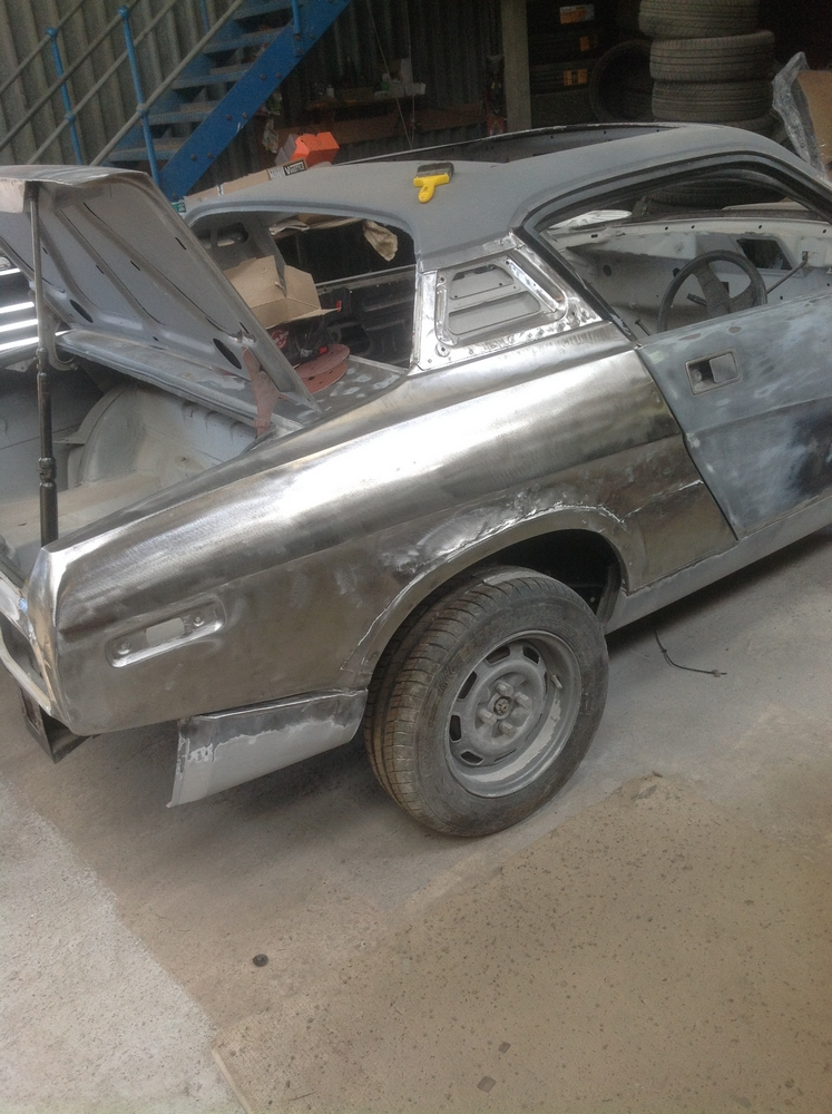 John's Triumph TR7 Restoration: Paint Progress!