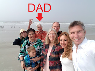 Ethical Digital's founder with his family