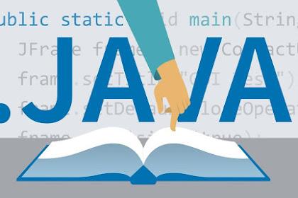 Mengenal Bahasa Pemograman Java