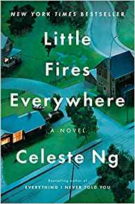 "Adult Book Group Reads ""Little Fires Everywhere"" for February 1 or 6, 2019"