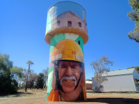 BIG Things South Australia | Painted Water Tower in Snowtown