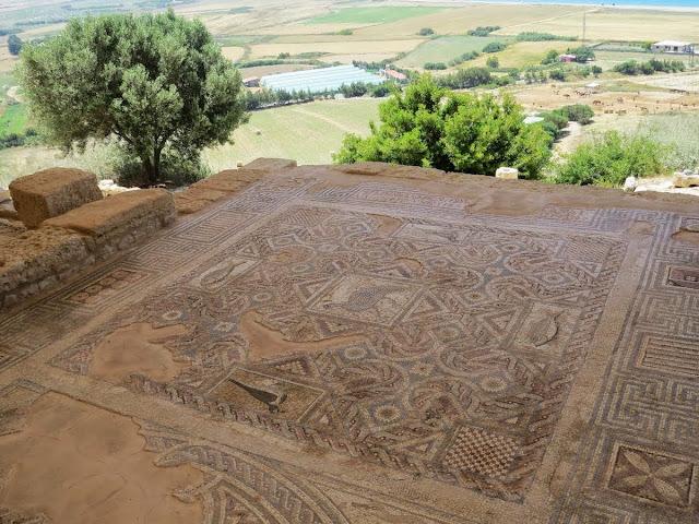 Cyprus Road Trip Itinerary: Mosaics at Ancient Kourion