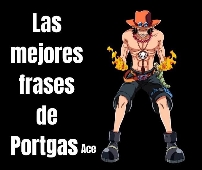 Las mejores Frases De Portgas Ace,  One Piece