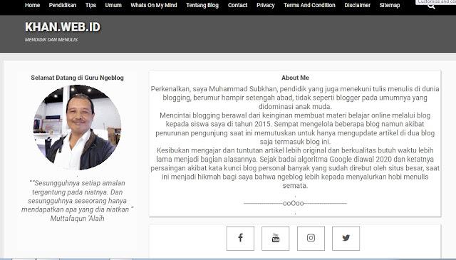 Redesign Template Kompi Flexible Lama Untuk Blog Khan.web.id