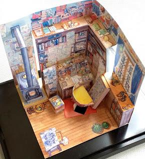 宮崎駿工作室紙模型