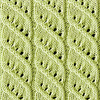 Twist Cable 8: Columns and Twists | Knitting Stitch Patterns.