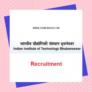 IIT Bhubaneswar Recruitment 2020 for Junior Research Fellow