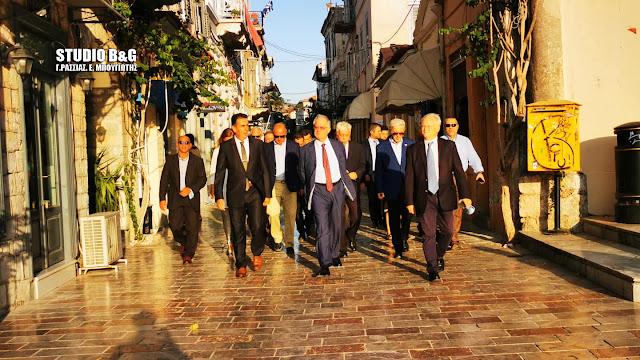 Στο Ναύπλιο ο Πρόεδρος της Ελληνικής Βουλής Κωνσταντίνος Τασούλας