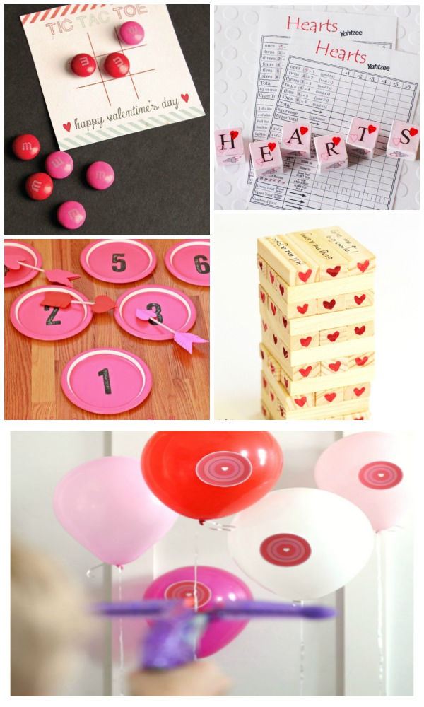 Celebrate Valentine's Day with these fun party games for kids and family. #valentinesgamesforkids #valentinesday #valentinesgames #valentinespartyideasforkids #valentinesclassparty #growingajeweledrose #activitiesforkids