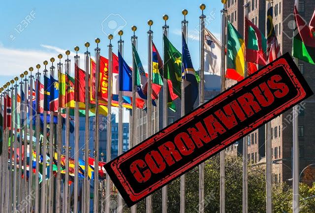 negara yang tidak corona