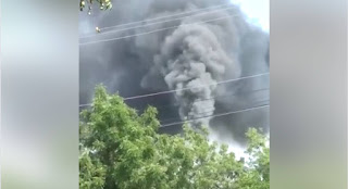 Este humo está matando las personas de la estancia del Yaque y la cartonera de Navarrete, y las autoridades de medio Ambiente carajo !