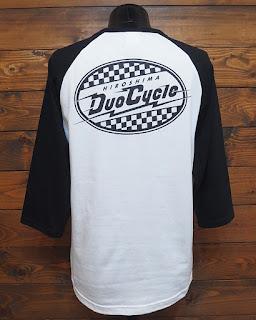 DUO CYCLE デュオサイクル 七分袖 Tシャツ