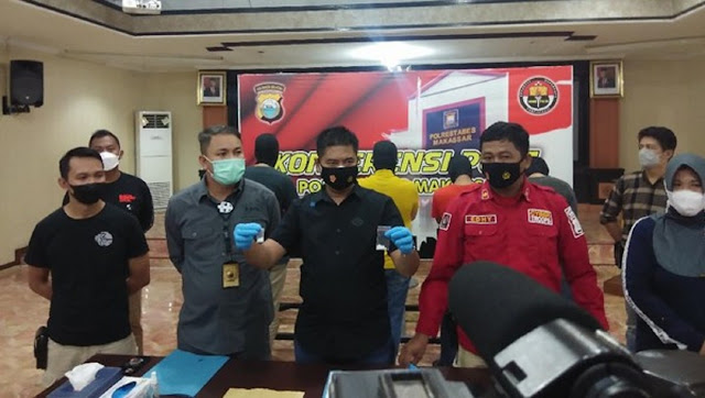 Sebelum Ditangkap, 4 Pejabat Kota Makassar Berniat Pe5ta 5abu