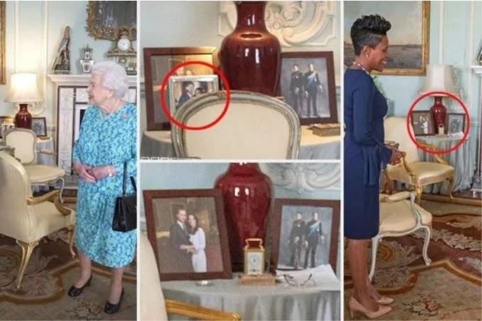 Bingkai gambar Putera Harry dan Meghan 'hilang' dari meja Ratu Elizabeth di Istana Buckingham