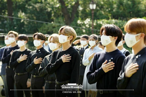 BTS di Korea's First Youth Day