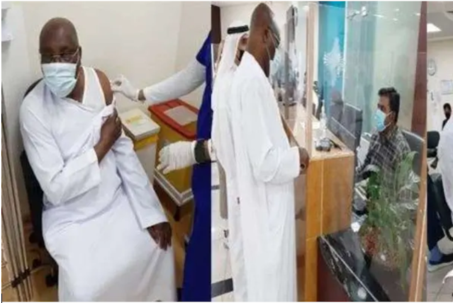 Atiku Abubakar becomes 'first Nigerian' to be jabbed with Pfizer COVID-19 vaccine