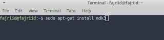install mdk3 linux