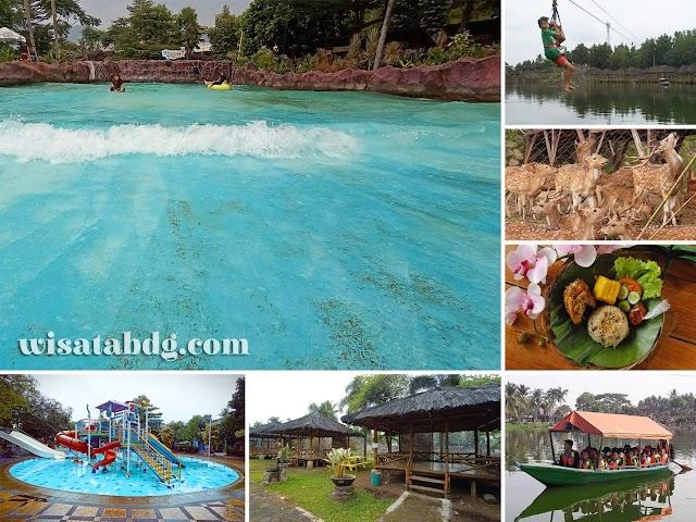 Berenang Seru di Tektona Waterpark, Kawasan Wisata Terpadu Kampung Batu Malakasari Baleendah