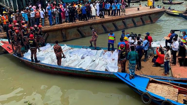 News, National, Death, boat, Boat Accident, Missing, Injured, Report, Bangladeshi ferry incident leaves 25 dead, dozens missing