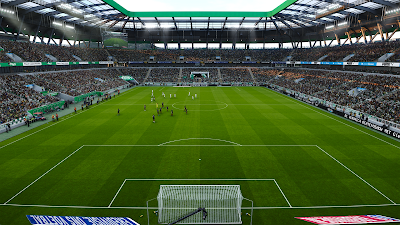 PES 2020 Hitachi Capital Mobility Stadion Mock-Up