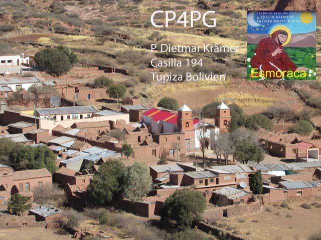 Pfarrkirche in Esmoraca Bolivien