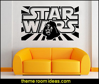 W-3 Star Wars Wall Art Sticker Wall Decal DIY Home Decoration Wall Mural Removable Bedroom Sticker