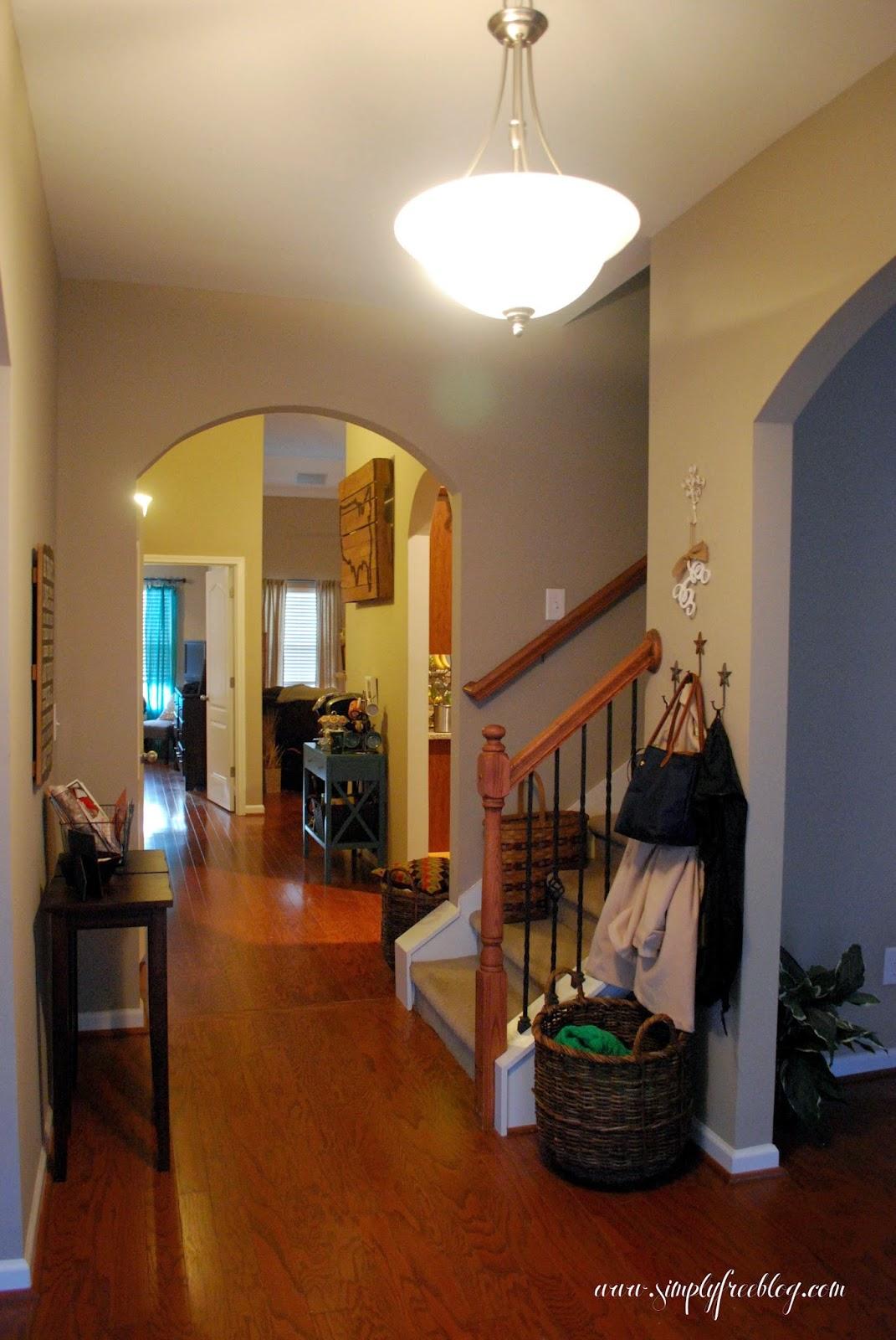 entryway front hallway simplyfreehometour simply elliott