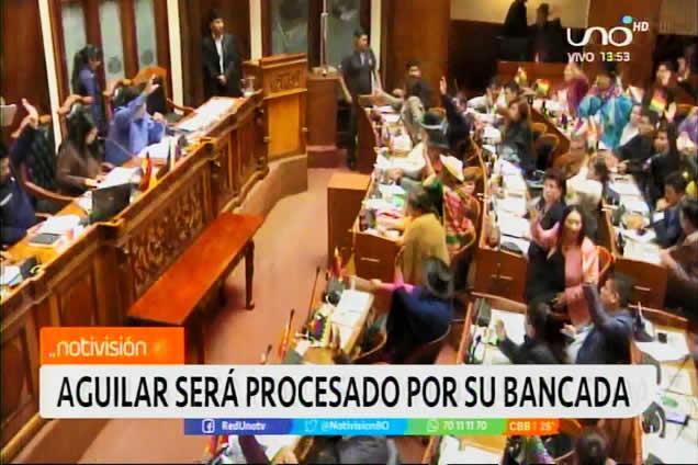 Masistas procesarán a su senador por haber aprobado la renuncia de Evo y Álvaro