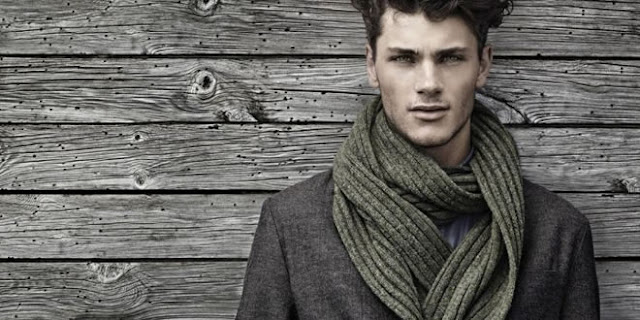 woolen stylish men stole muflar scarf