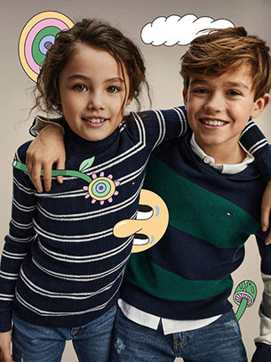 jerseis niños Tommy Hilfiger otoño invierno 2020
