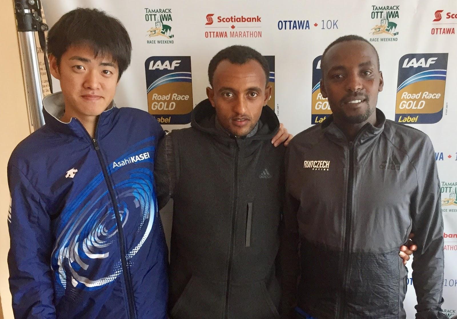 Bor Gebresilase And Murayama Lead Ottawa 10k Men S Field